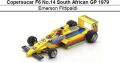 ◎予約品◎Copersucar F6 No.14 South African GP 1979 Emerson Fittipaldi