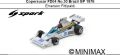 ◎予約品◎ Copersucar FD04 No.30 Brazil GP 1976 Emerson Fittipaldi