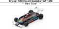 ◎予約品◎ Ensign N179 No.22 Canadian GP 1979 Marc Surer