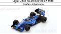 ◎予約品◎ Ligier JS31 No.26 Detroit GP 1988   Stefan Johansson