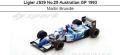 ◎予約品◎Ligier JS39 No.25 Australian GP 1993  Martin Brundle