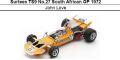 ◎予約品◎ Surtees TS9 No.27 South African GP 1972 John Love