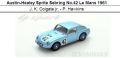 ◎予約品◎Austin-Healey Sprite Sebring No.42 Le Mans 1961  J. K. Colgate jr. - P. Hawkins