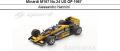 ◎予約品◎ Minardi M187 No.24 US GP 1987  Alessandro Nannini