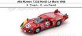 ◎予約品◎ Alfa Romeo T33/2 No.65 Le Mans 1968  S. Trosch - K. von Wendt