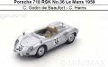 ◎予約品◎ Porsche 718 RSK No.36 Le Mans 1959  C. Godin de Beaufort - C. Heins