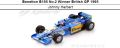 ◎予約品◎ Benetton B195 No.2 Winner British GP 1995  Johnny Herbert