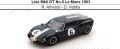 ◎予約品◎ Lola Mk6 GT No.6 Le Mans 1963  R. Attwood - D. Hobbs