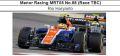 ◆Manor Racing MRT05 No.88 (Race TBC)  Rio Haryanto