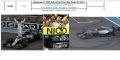 ◆Mercedes F1 W07 Hybrid No.6 2nd Abu Dhabi GP 2016 Nico Rosberg - World Champion 2016