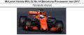 ◎予約品◎ McLaren Honda MCL32 No.14 Barcelona Pre-season test 2017 Fernando Alonso