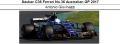 ◎予約品◎ Sauber C36 Ferrari No.36 Australian GP 2017 Antonio Giovinazzi