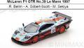 ◎予約品◎McLaren F1 GTR No.39 Le Mans 1997  R. Bellm - A. Gilbert-Scott - M. Sekiya