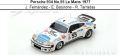 ◎予約品◎ Porsche 934 No.55 Le Mans 1977  J. Fernandez - E. Baturone - R. Tarradas