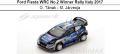 ◎予約品◎Ford Fiesta WRC No.2 Winner Rally Italy 2017  O. Tanak - M. Jarveoja