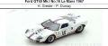 ◎予約品◎ Ford GT40 Mk.I No.16 Le Mans 1967  H. Greder - P. Dumay
