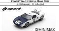 ◎予約品◎ Ford GT No.12 24H Le Mans 1964J. Schlesser - R. Attwood