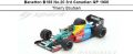 ◎予約品◎ Benetton B188 No.20 3rd Canadian GP 1988  Thierry Boutsen