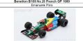 ◎予約品◎ Benetton B188 No.20 French GP 1989  Emanuele Pirro