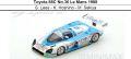 ◆Toyota 88C No.36 Le Mans 1988  G. Lees - K. Hoshino - M. Sekiya
