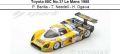 ◎予約品◎ Toyota 88C No.37 Le Mans 1988   P. Barilla - T. Needell - H. Ogawa