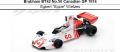 "◎予約品◎ Brabham BT42 No.50 Canadian GP 1974  Egbert ""Eppie"" Wietzes"