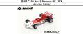 ◎予約品◎ BRM P180 No.19 Monaco GP 1972 Howden Ganley