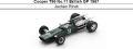 ◎予約品◎ Cooper T86 No.11 British GP 1967 Jochen Rindt