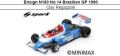 ◎予約品◎ Ensign N180 No.14 Brazilian GP 1980 Clay Regazzoni