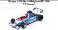 ◎予約品◎ Ensign N180 No.14 Belgium GP 1980  Tiff Needell