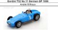 ◎予約品◎ Gordini T32 No.11 German GP 1956  Andre Milhoux