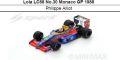 ◎予約品◎Lola LC88 No.30 Monaco GP 1988  Philippe Alliot
