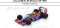 ◎予約品◎Lola LC88 No.29 Monaco GP 1988  Yannick Dalmas
