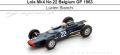 ◎予約品◎Lola Mk4 No.22 Belgium GP 1963  Lucien Bianchi