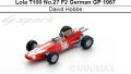 ◎予約品◎ Lola T100 No.27 F2 German GP 1967  David Hobbs