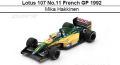 ◎予約品◎ Lotus 107 No.11 French GP 1992  Mika Hakkinen