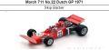 ◎予約品◎March 711 No.22 Dutch GP 1971  Skip Barber