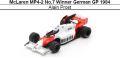 ◎予約品◎ McLaren MP4-2 No.7 Winner German GP 1984 Alain Prost