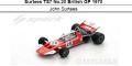 ◎予約品◎Surtees TS7 No.20 British GP 1970  John Surtees