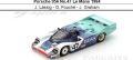 ◎予約品◎ Porsche 956 No.47 Le Mans 1984  J. Lassig - G. Fouche - J. Graham