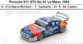 ◎予約品◎Porsche 911 GT2 No.91 Le Mans 1995  A. d'Orleans-Borbon - T. Saldana - M. A. de Castro