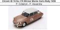 ◎予約品◎ Citroen ID 19 No.176 Winner Monte Carlo Rally 1959  P. Coltelloni - P. Alexandre