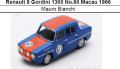◎予約品◎ Renault 8 Gordini 1300 No.60 Macau 1966  Mauro Bianchi