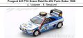 ◎予約品◎ Peugeot 405 T16 Grand Raid No.204 Paris Dakar 1988   A. Vatanen - B. Berglund