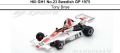◎予約品◎ Hill GH1 No.23 Swedish GP 1975  Tony Brise