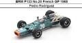 ◎予約品◎ BRM P133 No.20 French GP 1968 Pedro Rodriguez