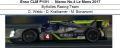 ◎予約品◎ Enso CLM P1/01 ‐ Nismo No.4 Le Mans 2017  ByKolles Racing Team O. Webb - D. Kraihamer - M. Bonanomi