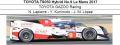 ◎予約品◎ TOYOTA TS050 Hybrid No.9 Le Mans 2017  TOYOTA GAZOO Racing  N. Lapierre - 国本雄資 - J. M. Lopez