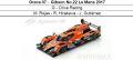 ◎予約品◎ Oreca 07 ‐ Gibson No.22 Le Mans 2017  G‐Drive Racing  M. Rojas - R. Hirakawa - J. Gutierrez