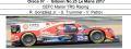 ◎予約品◎ Oreca 07 ‐ Gibson No.25 Le Mans 2017  CEFC Manor TRS Racing  R. Gonzalez Jr. - S. Trummer - V. Petrov